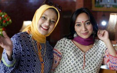 Pelesiran Ala Bella Fawzi-Marissa Haque ke India