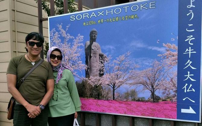 Marissa Haque Riset ke Jepang Demi Buku Baru